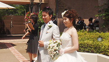 河村君結婚式