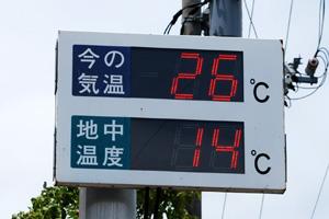 地中熱温度