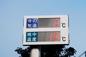 地中温度比較