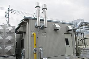 GEOパワーシステム機械室