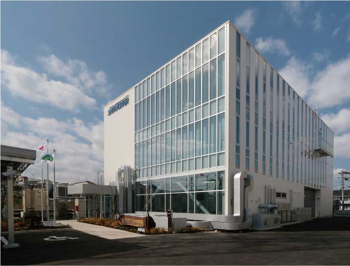 白鷺電気工業株式会社様の新社屋